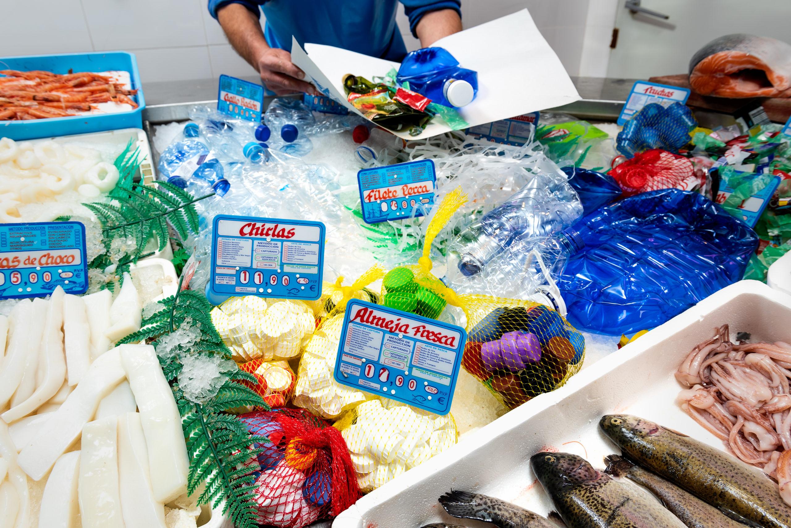 Plástico: Pescadería