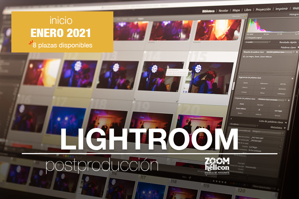 Curso de Adobe Lightroom Zoom Hélicon