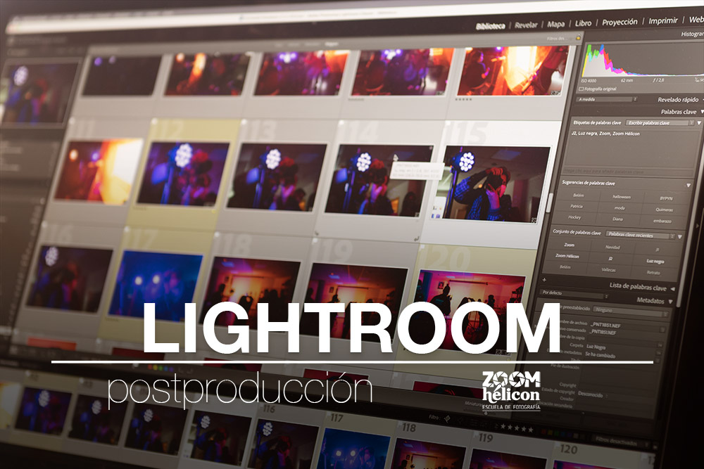 Curso Adobe Lightroom Zoom Hélicon
